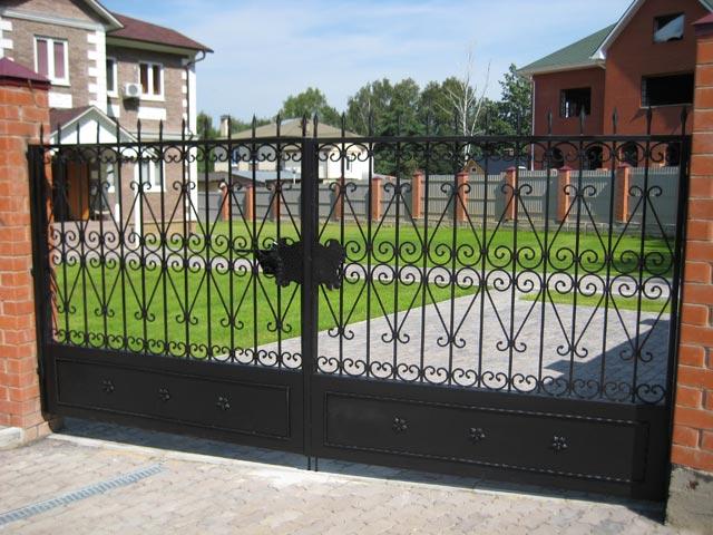 Фото схема простые ворота