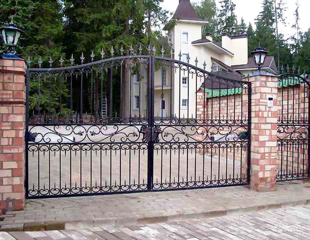 автоматические ворота для ограждения загородного дома