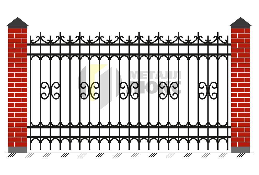Забор из решеток своими руками 123