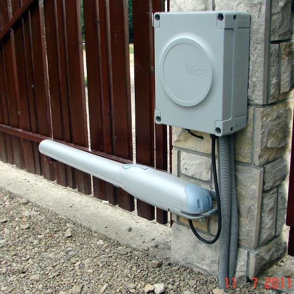установка автоматики на распашные ворота цена 500 харьков